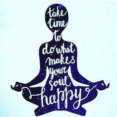 Tomate el tiempo para hacer lo que hace a tu alma feliz. #Relax #enjoy #lifeisgood #respira #deleitatualma #viveenpaz #lunesdearranque #vamoaetooo #descansa