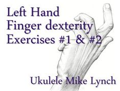 Check out these finger dexterity exercises on You Tube and VIMEO . . . I assure you that working daily with these simple exercises will increase your power and control a thousand-fold www.allthingsukulele.com