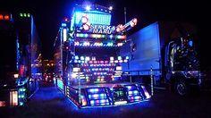 Ten Stunning Photos of Amazing Japanese Dekotora Light Trucks Trailers, Top 10 Image, Medical Journals, American Video, Japanese Cars, Japanese Style, Custom Trucks, Pickup Trucks, Concept Cars
