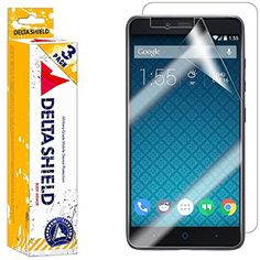 ZTE Imperial Max Screen Protector [3-Pack], DeltaShield BodyArmor Full Coverage Back   Front Screen Protector for ZTE Imperial Max Military-Grade Clear HD Anti-Bubble Film * You can find out more details at the link of the image. (This is an affiliate link) #ScreenProtectors
