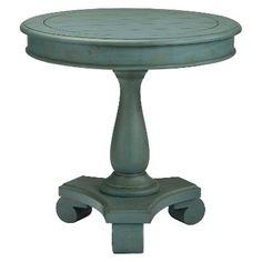 Mirimyn Round Accent Table - Ashley Furniture - Sky Blue