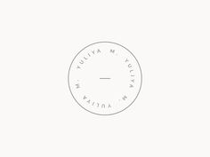 A simple, simple brand mark for a current project.: