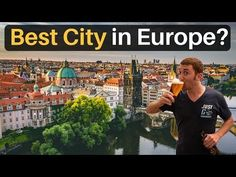 Why PRAGUE is the BEST CITY in EUROPE - YouTube Travel Videos, Travel Tips, Best Cities In Europe, Prague Travel, 3 Friends, Free Travel, Social Media, Good Things, Bread