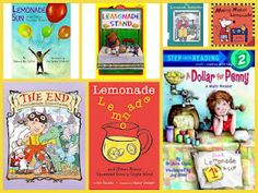 Here is a List of 8 Lemonade Books and Related Activities!  Perfect for a hot weather week!
