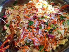September in the Kitchen - Mexican Vegetable Salad