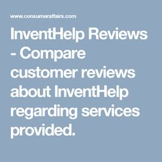 InventHelp Reviews - Compare customer reviews about InventHelp regarding services provided. Inventions, Box, Boxes