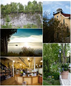 Some of our favorite shops (TKL - Door County Shops Fish Creek Great Vacation Spots, Great Vacations, Door County Wi, Fish Creek, Heaven On Earth, Wisconsin, Shops, Adventure, Mansions