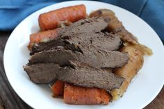 Slow Cooker Beef Heart with Parsnips & Carrots (AIP, Paleo, Gluten Free)