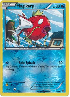 Magikarp 19/98 Pokemon TCG: XY Ancient Origins, Reverse Holo Pokemon Card #pokemon #pokemontcg #pokemoncards #thepokemart