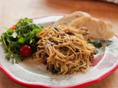 Instructions on how to cook from frozen - Spicy Chicken Spaghetti recipe from Ree Drummond via Food Network