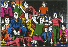 Gilbert & George 28 April to 2 September 2018 Brighton Museum Brighton Museum, Tableaux Vivants, Gilbert & George, Anthony Caro, Turner Prize, Damien Hirst, Cultural Identity, Labor, S Pic
