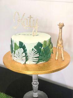 Jungle Safari Cake, Jungle Theme Cakes, Safari Baby Shower Cake, Safari Cakes, Safari Theme, Jungle Party, Jungle Birthday Cakes, Safari Birthday Cakes, Boys 1st Birthday Cake