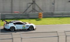 Hanergy worked with Aston Martin to equip a racing car with solar panels.