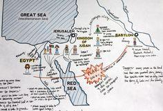 Book of Mormon story map (Lehi in Jerusalem)