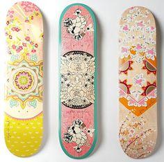 Skateboard Art!
