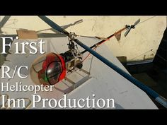 """The First Electric Helicopter 1980"""" Homemade How To Build Make a RC Helicopter at Home From Scratch - YouTube"""