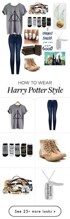 """Harry Potter"" by quinnh-1 on Polyvore featuring Warner Bros., 2LUV, WithChic and IMAX Corporation"