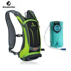 8L ANMEILU Outdoor Sports Water Bag Waterproof Cycling Bicycle Bike Backpack Men Women Climbing Camping Hiking Hydration Bag