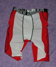 Men's Under Armour Compression Shorts Basketball Red Sz XL $59.99 NWT #UnderArmour #Shorts