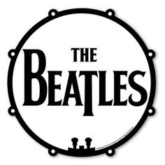 Beatles - Drum Head Logo Mouse Pad (UK Import)