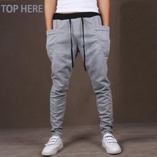 Cheap men trousers, Buy Quality casual men pants directly from China mens joggers Suppliers: Casual Men Pants Unique Big Pocket Hip Hop Harem Pants Quality Outwear Sweatpants Casual Mens Joggers TOP HERE Men's Trousers Mens Joggers Sweatpants, Mens Jogger Pants, Sport Pants, Trousers Mens, Cargo Pants, Sports Trousers, Skinny Joggers, Hip Hop, Casual Pants