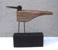 Twisted Oak, Metal Art Sculpture, Wood Bird, Found Object Art, Driftwood Crafts, Junk Art, Welding Art, Trendy Wallpaper, Robot Art
