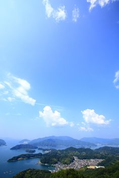 京都舞鶴の五老岳から眺めた空と海の絶景