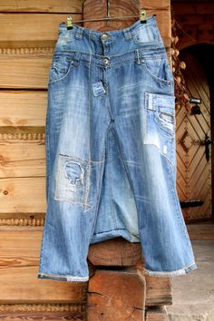 Reserved for Niggel recycled jeans denim yoga pants by jamfashion, $78.00