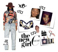 """""""New sass"""" by joycecomfort on Polyvore featuring Vince Camuto, Hollister Co., John Lewis, Maison Michel, Post-It, Janessa Leone, Alexandre Birman, xO Design, Yves Saint Laurent and Gucci"""