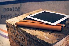 Fancy - Mujjo iPad Mini Sleeve; leather and felt