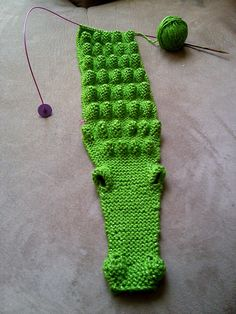 croc as a scarf - soooooo cool!!