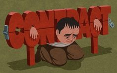 Retro Style Thought Provoking Illustrations by John Holcroft - 5