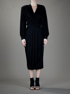 Lanvin dress from farfetch.com #vegan black dress