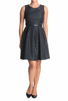 Hi There From Karen Walker - Blue Tear Drop Textured Dress Just bought this for my friend's wedding