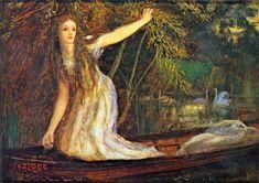 the lady of shalott | The Lady of Shalott: ca 1863