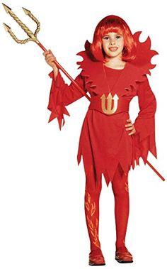 Kostüm Teufelin für Kinder