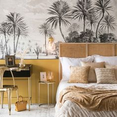 Yellow room ideas: 23 way to update your home for spring Decor, Interior, Home Bedroom, Cool Rooms, Bedroom Interior, Home Decor, Bedroom Inspirations, Yellow Room, Interior Deco