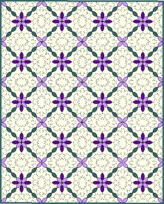 "Pinterest Quilt Patterns | Finished Size 48"" x 60"""