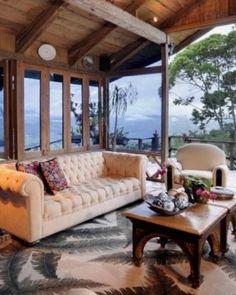 Hacienda Tayutic  ( Turrialba, Costa Rica )  Once the family home of owner Felipe Ortuño, Hacienda Tayutic brims with style and history. #Jetsetter