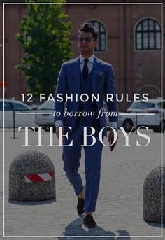 12 Fashion Rules To Steal From Men!