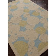 Lily Pad Indoor-Outdoor Coastal Area Rug