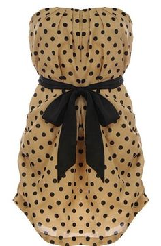 Spotted Fawn Dress