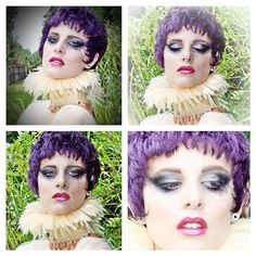 Tyson Keanum Beauty — #hair #makeup #wig #neckpiece #styling and...