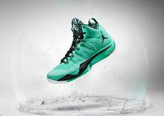 san francisco 7ee4e 128e2 Jordan Super.Fly 2 Green Glow Blake Spruce White Blake Griffin Shoes, Nike  Basketball