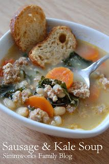 Sausage and Kale Soup Recipe Guest Post