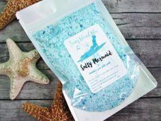 SALTY MERMAID Bubble Sea Salt Soak