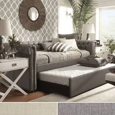 Image result for sleeper couch in home office