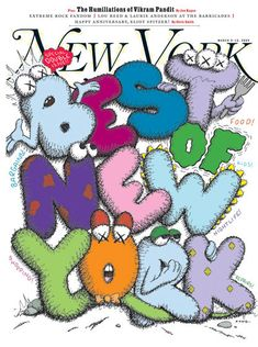 KAWS -Cover 2009