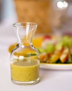 A simple salad dressing of green chile powder, mustard, honey, and lime. @MJs Kitchen mjskitchen.com @MJs Kitchen