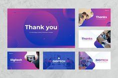 IT & Technology Keynote Presentation by Flat Icons on @creativemarket Presentation Design, Presentation Templates, Free Web Fonts, Professional Presentation, Information Technology, Keynote, Thankful, Flat Icons, Business